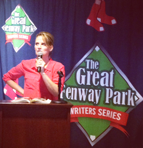 Claudia Williams at Fenway Park Writers Seriies